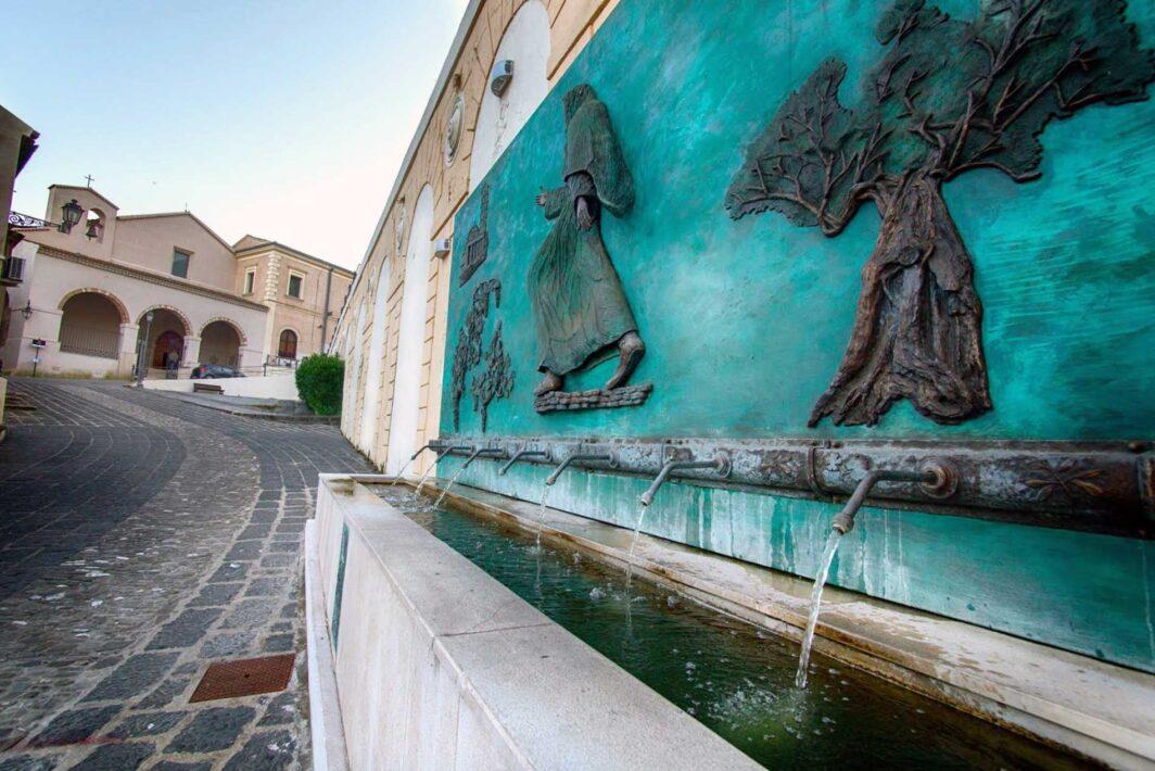 Centro storico di Rossano - salita Chiesa San Bernardino