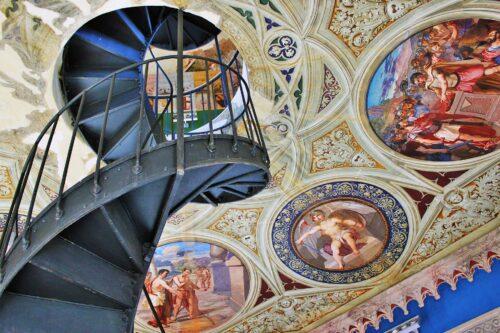 Scala interna Castello Ducale Corigliano-Rossano